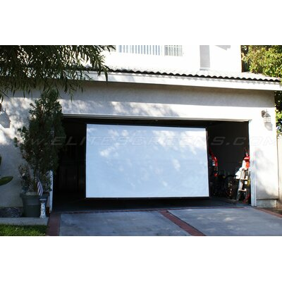 "Elite Screens Portable Outdoor DynaWhite  Projection Screen - 145"" 4:3 AR"