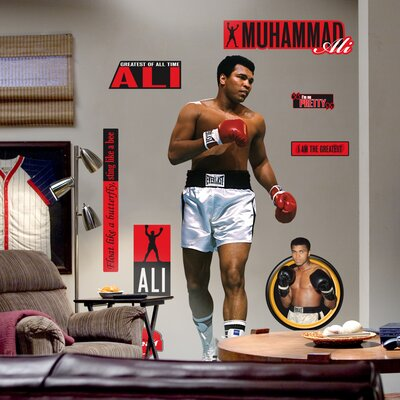 Muhammad Ali Wall Graphic