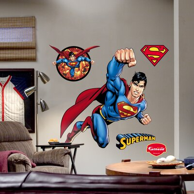 Fathead Superman Wall Graphic