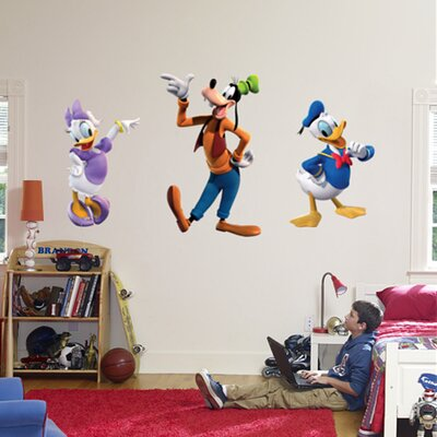 Donald, Daisy and Goofy Wall Graphic