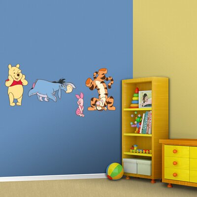 Winnie the Pooh and Friends Wall Graphic