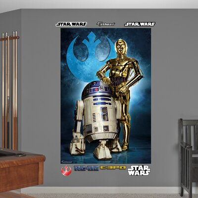 Star Wars R2-D2 and C-3PO Wall Mural