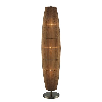 Lite Source Parvati  Floor Lamp in Antique Brass