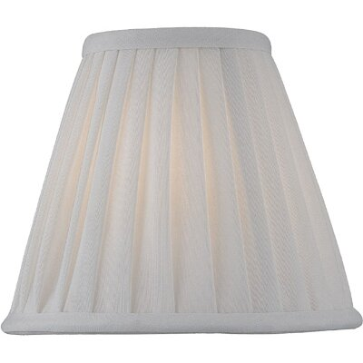 Lite Source Candelabra Lamp Shade in Empire Pleat
