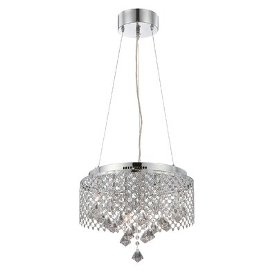 Lite Source Saturnus 9 Light Ceiling Lamp
