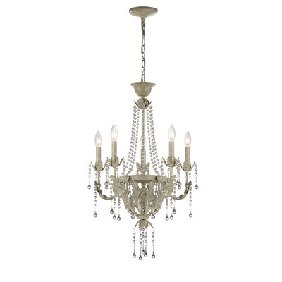Lite Source Calanthe 5 Light Chandelier
