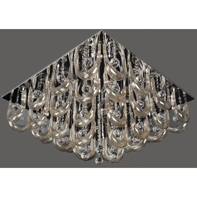 Lite Source Pasquale 16 Light Flush Mount