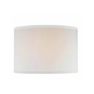 Lite Source Drum Lamp Shade in Off White