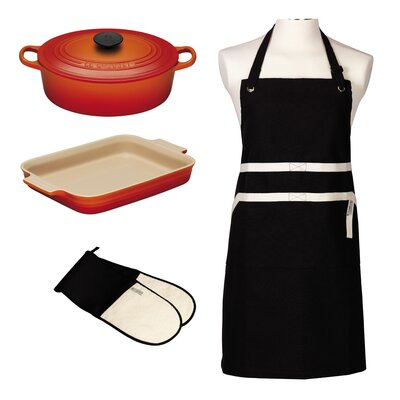 Le Creuset Roasting Set in Volcanic