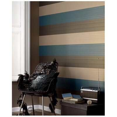 Graham &amp; Brown Figaro Aqua Wallpaper