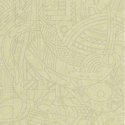 Graham & Brown Map Lemongrass Wallpaper by Basso & Brooke