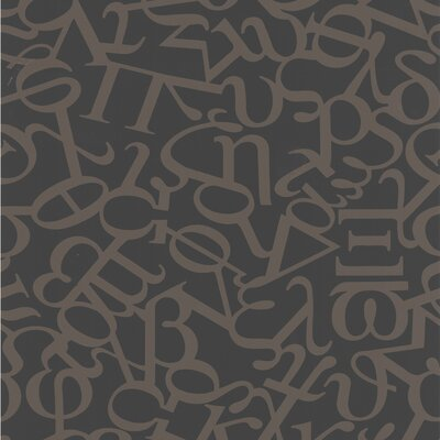 Graham & Brown Alphabet Wallpaper by Basso & Brooke