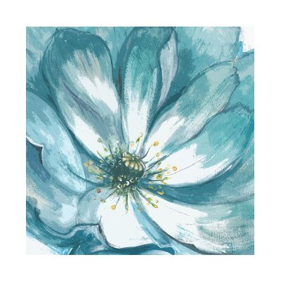 Graham & Brown Teal Fleur Canvas