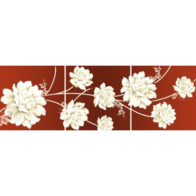 Graham &amp; Brown Rose Triptych Canvas (set of 3)