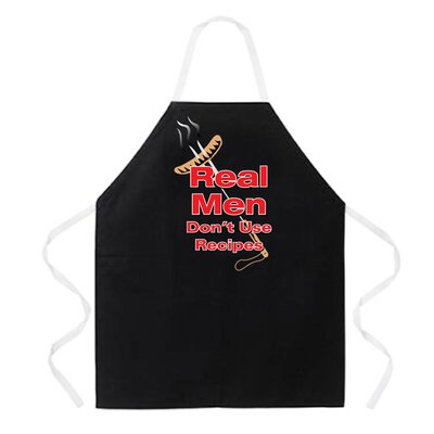 Attitude Aprons by L.A. Imprints Real Men Apron