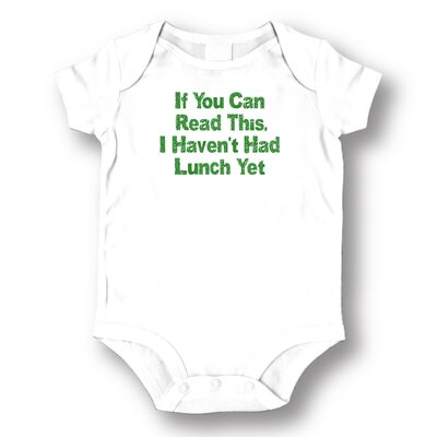 Attitude Aprons by L.A. Imprints Lunch Yet Baby Romper