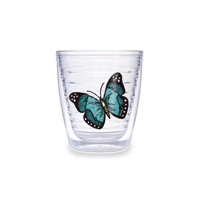 Butterfly 12oz. Green Tumbler (Set of 4)