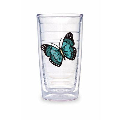 Butterfly 16oz. Green Tumbler (Set of 4)