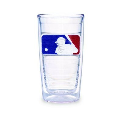 MLB Logo 16 oz Insulated Tumbler (Set of 2)