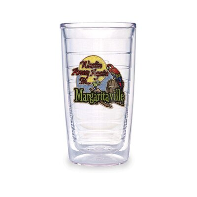 Tervis Tumbler Wastin Away Again in Margaritaville 16 Oz Tumbler (Set of 2)