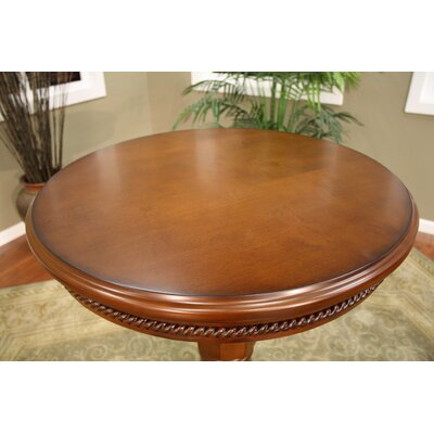 American Heritage Larosa Pub Table in Suede