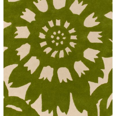 Thomas Paul Tufted Pile Grass/Cream Zinnia Rug