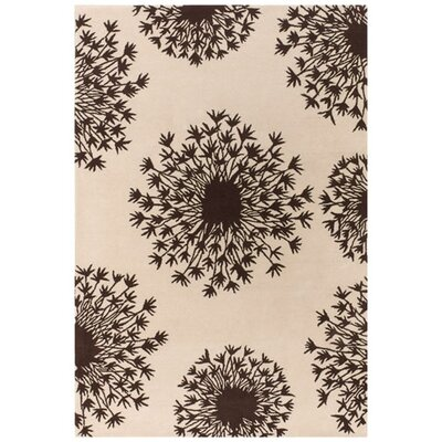 Thomas Paul Tufted Pile Chocolate/Cream Seed Rug