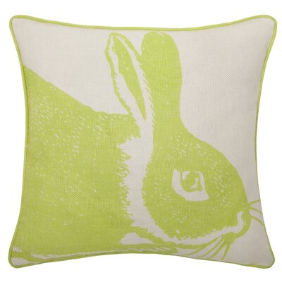 Thomas Paul Bunny Linen Pillow in Kiwi