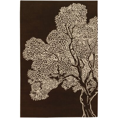 Thomas Paul Tufted Pile Java/Cream Tree Rug