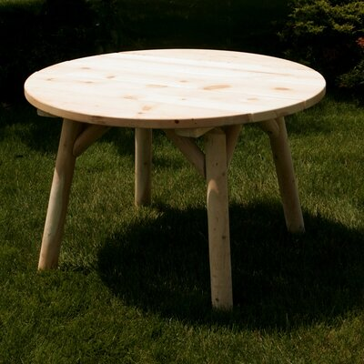 "Moon Valley Rustic 46"" Round Table"