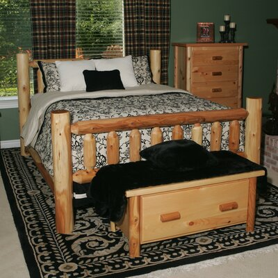Moon Valley Rustic 212 -Moon Valley Slat Bed