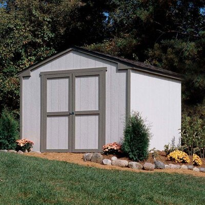 Handy Home Marco Series Cumberland Wood Storage Shed