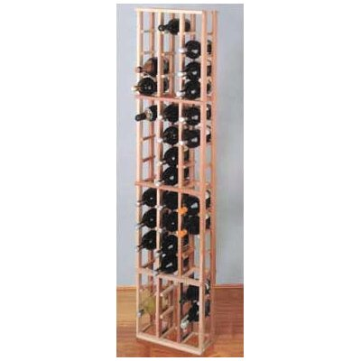 Wine Cellar Innovations Premium Redwood 48 Bottle Wine Rack