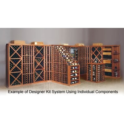Wine Cellar Innovations Designer Series Diamond 212 Bottle Wine Rack