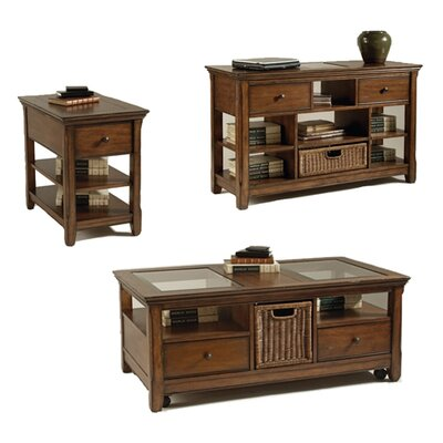 Magnussen Furniture Tanner Coffee Table Set