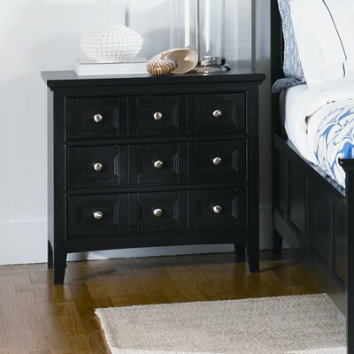 South Hampton 3 Drawer Nightstand