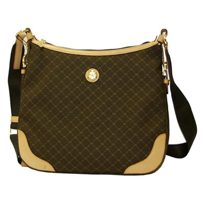 Rioni Signature Shoulder Bag in Brown