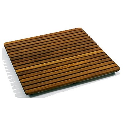 Infinita Corporation Le Spa 24&quot; Square Teak Floor and Shower Tile in Oiled Finish