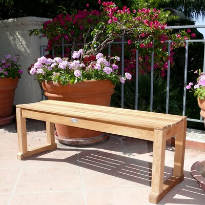 Infinita Corporation Le Spa Teak Picnic Bench
