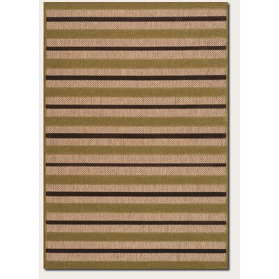 Couristan Urbane Light Rail Tan/Chocolate Rug
