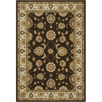 Couristan Covington Maplewood Chocolate Rug