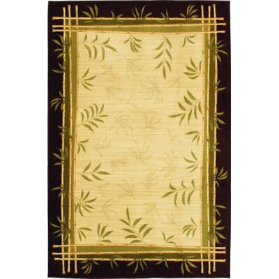 Modern Elements Lemon Grass Ivory Rug