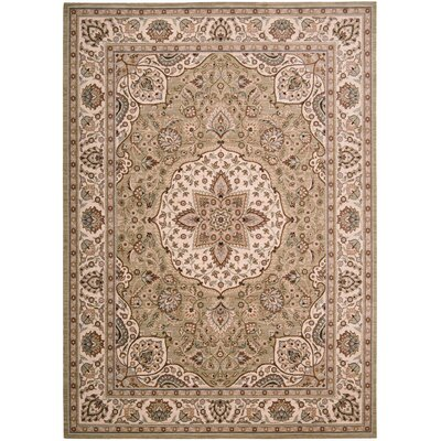 Arabesque Easton Pale Leaf Rug