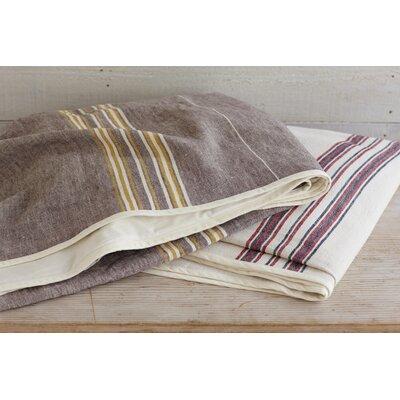 Coyuchi Rustic Linen Blanket and Sham