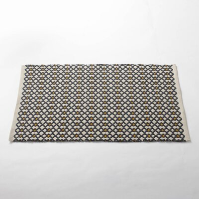 Coyuchi Triple Diamond Bath Rug