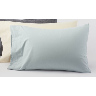 Coyuchi Cloud Brushed Flannel Organic Cotton Pillowcase