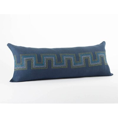 Coyuchi Radiant Roman Key Organic Cotton/Linen Decorative Pillow