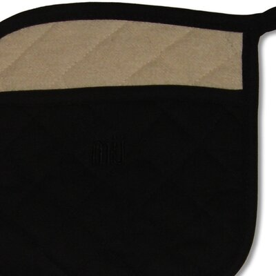 "MU Kitchen MUincotton 9"" Potholder in Onyx"