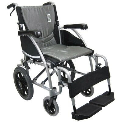 Karman Healthcare Ergonomic Ultralight Transport Chair