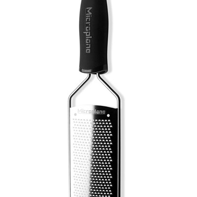 Microplane Gourmet Fine / Spice Grater with Black Handle